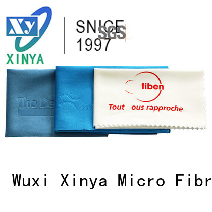 Xinya yellow microfiber towels home cleaning