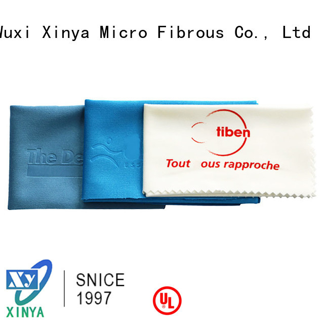 Xinya lens cleaning cloth promotional home washing
