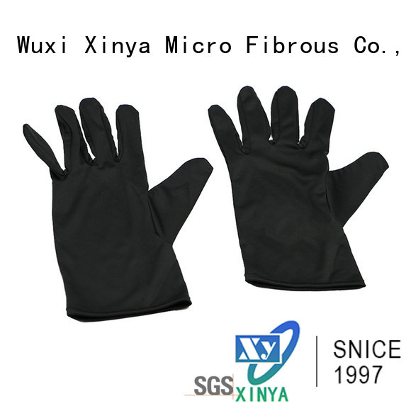 Xinya clean microfiber cloth gloves mini
