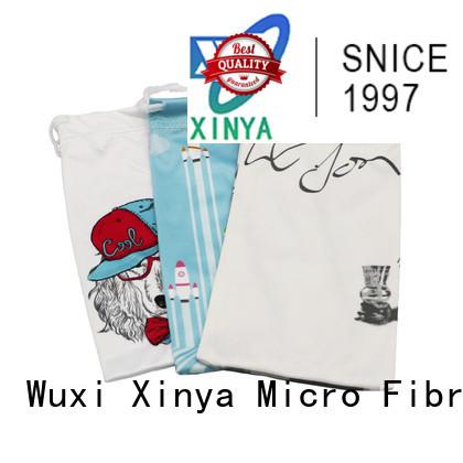 Xinya clean microfiber drawstring bags mini washing
