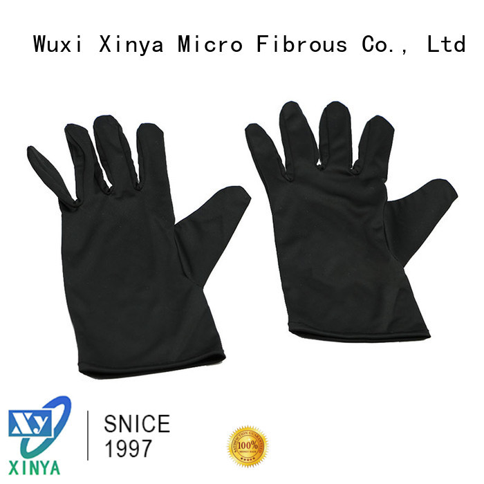 Xinya high quality microfiber cleaning gloves large