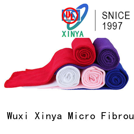 Xinya best microfiber towels mini household