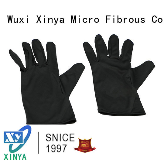 clean microfiber gloves home