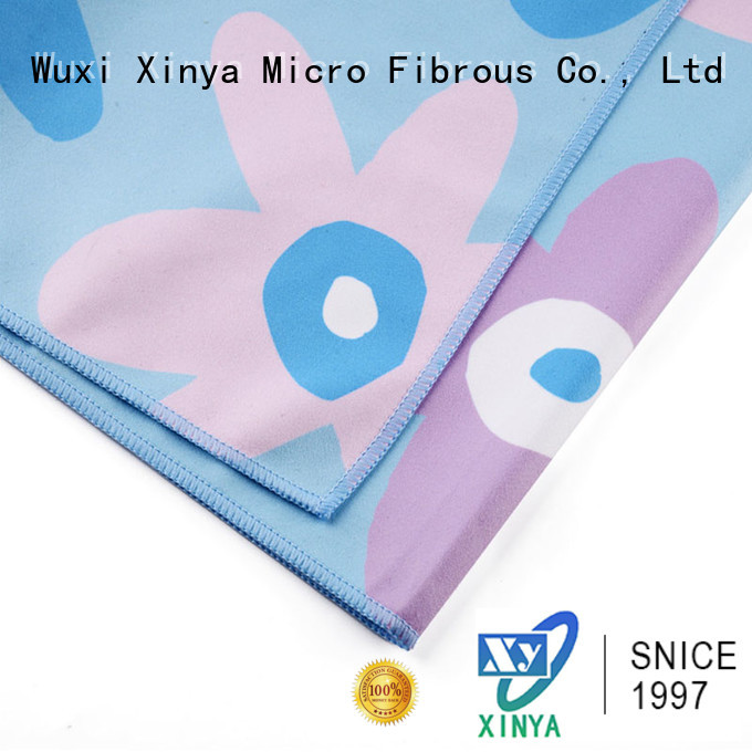 Xinya micro lint free microfiber towels small household
