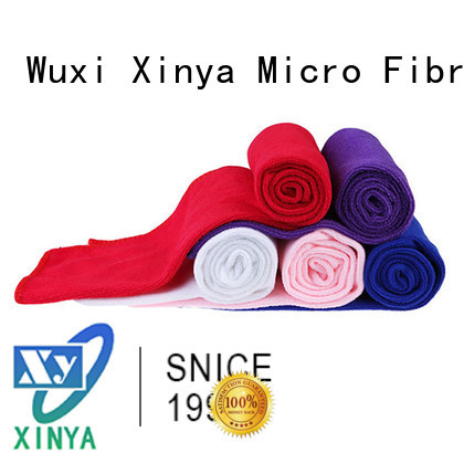 Xinya soft microfiber towels mini cleaning