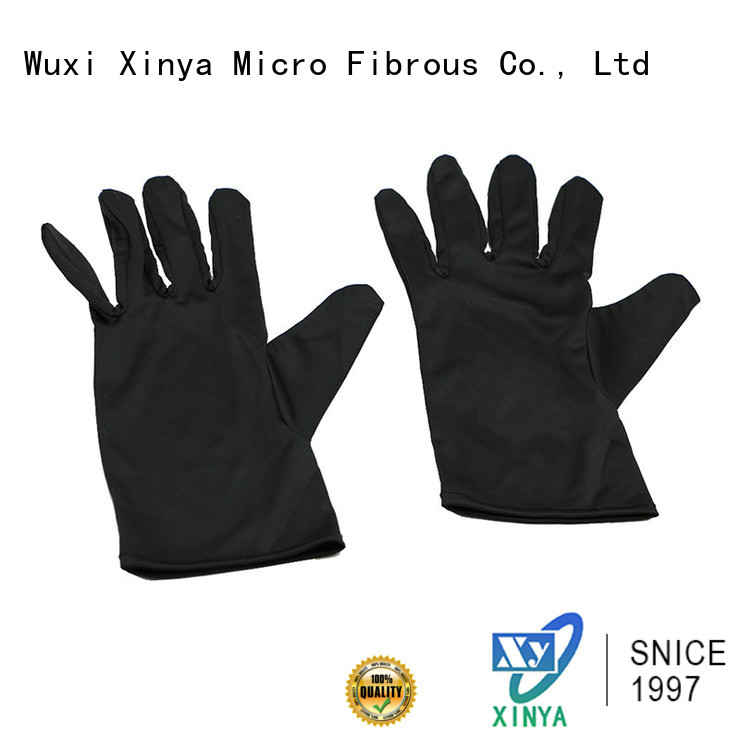 Xinya high quality microfiber gloves for car washing