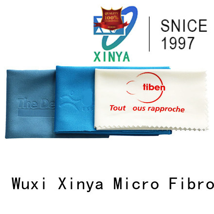 Xinya microfiber eyeglass cleaning cloth mini washing