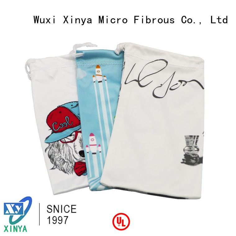 Xinya microfiber drawstring bags home cleaning