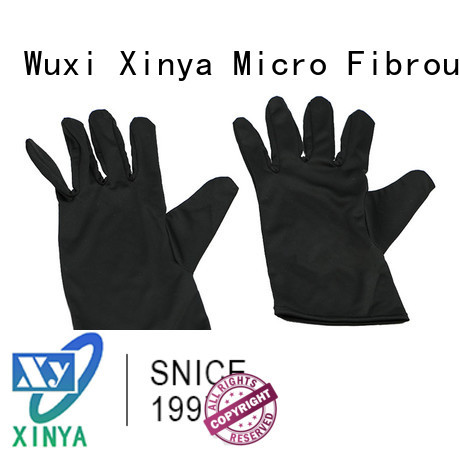 Xinya good microfiber jewelry gloves large washing