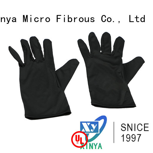 Xinya microfiber hand gloves mini cleaning