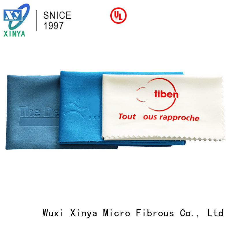 Xinya microfiber spectacle cleaning cloth mini washing