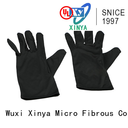 Xinya microfiber gloves cleaning mini cleaning