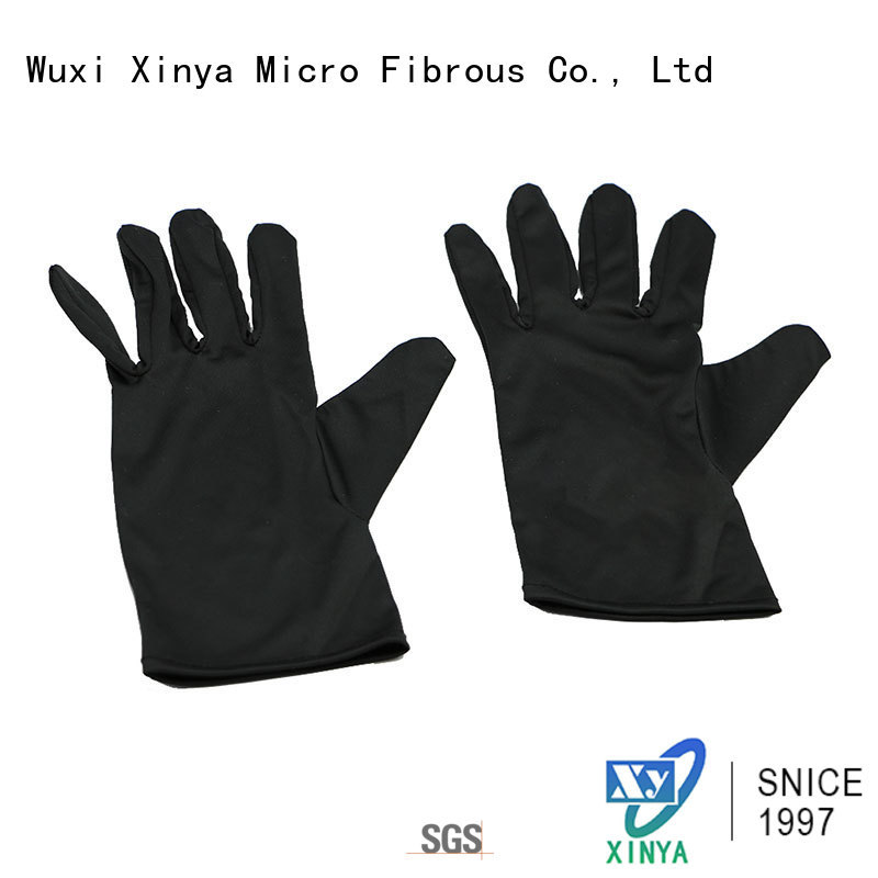 clean microfiber hand gloves home