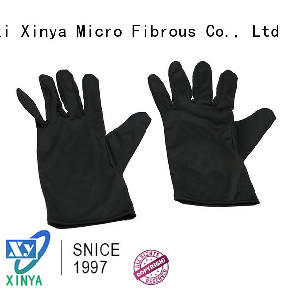 Xinya microfiber cloth gloves mini cleaning