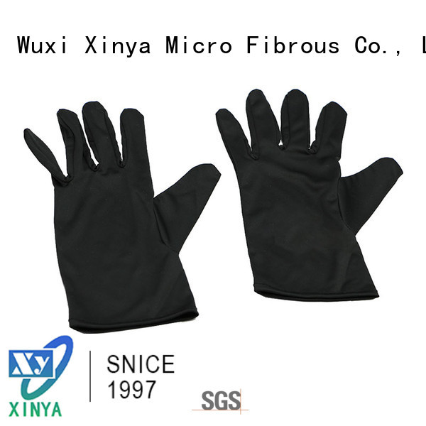 Xinya good microfiber glove mitt home